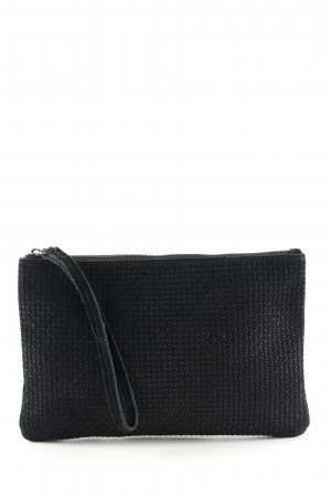 Mango Clutch schwarz Casual-Look