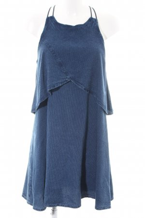 Mango Cocktailkleid blau Casual-Look