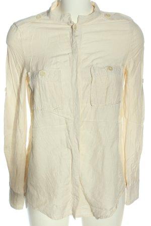 Mango collection Camicia blusa crema stile casual