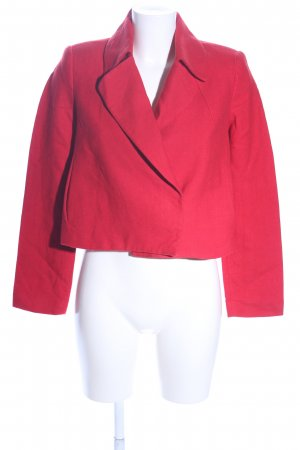 Mango collection Kurz-Blazer rot Casual-Look