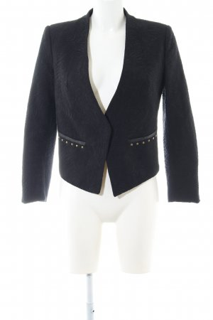 Mango collection Kurz-Blazer schwarz Business-Look