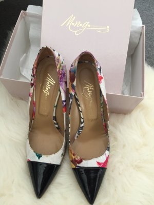 Mango Collection Leather and Material High Heels