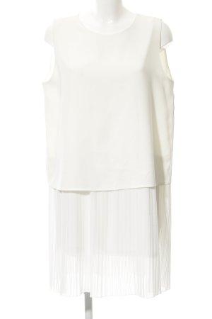 Mango collection Minikleid weiß-wollweiß Elegant