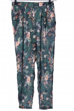 Mango collection Stoffhose Blumenmuster Casual-Look