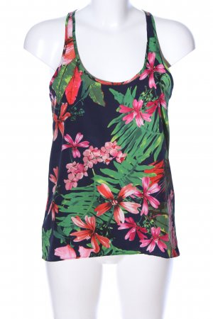 Mango collection Volanttop Blumenmuster Casual-Look