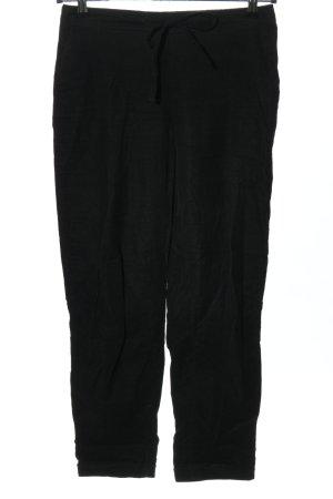 Mango Corduroy broek zwart casual uitstraling