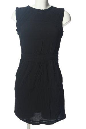 Mango Cut-Out-Kleid schwarz Casual-Look