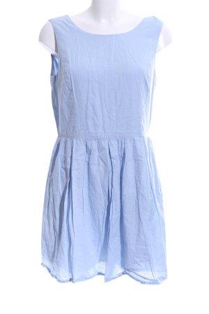 Mango Cut Out Dress blue casual look