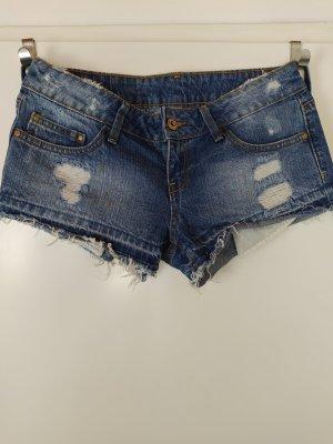 MANGO Denim Shorts Hotpants, Gr. 34, US 2