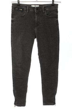 Mango Denim & Tees 7/8 Jeans schwarz Casual-Look