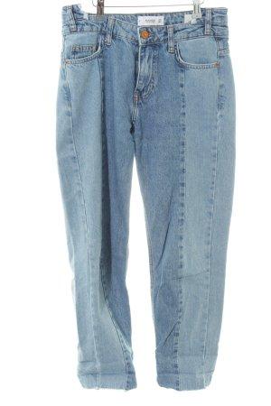 Mango Denim & Tees 7/8 Jeans himmelblau Metallelemente