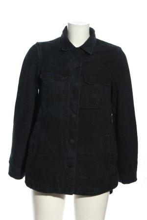Mango Denim & Tees Blusenjacke schwarz Casual-Look