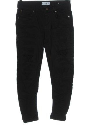 Mango Denim & Tees Boyfriend Jeans black casual look