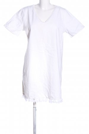 Mango Denim & Tees Shirtwaist dress white casual look