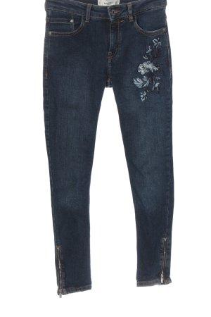 Mango Denim & Tees Jeans a vita alta blu stile casual