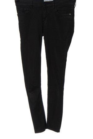 Mango Denim & Tees Jeans a vita alta nero stile casual