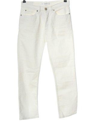 Mango Denim & Tees High Waist Jeans white casual look
