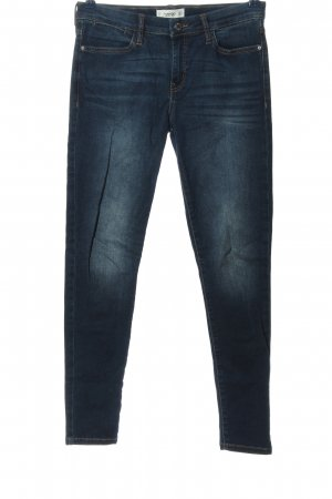 Mango Denim & Tees High Waist Jeans blau Casual-Look