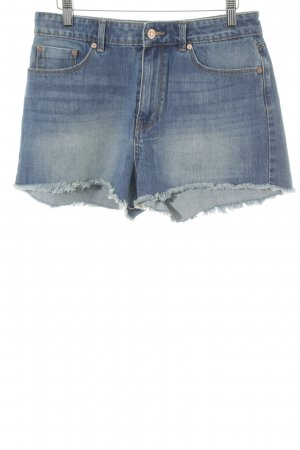 Mango Denim & Tees Hot Pants blau Casual-Look