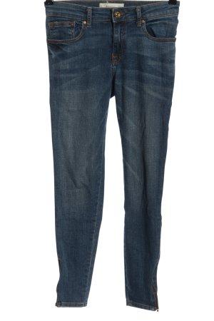 Mango Denim & Tees Jeansy biodrówki niebieski W stylu casual