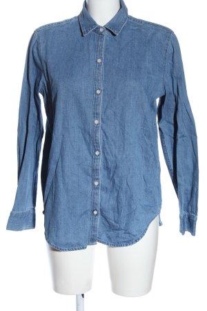 Mango Denim & Tees Camicia denim blu stile casual