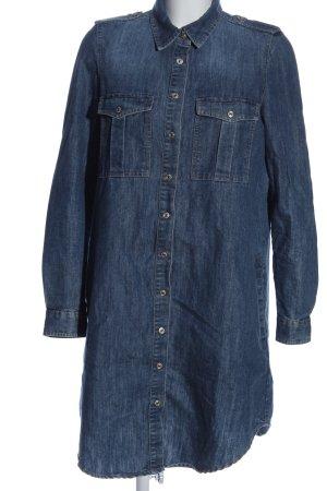 Mango Denim & Tees Jeanskleid blau Street-Fashion-Look