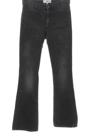 Mango Denim & Tees Jeans flare gris clair style décontracté