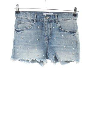 Mango Denim & Tees Short en jean bleu style décontracté
