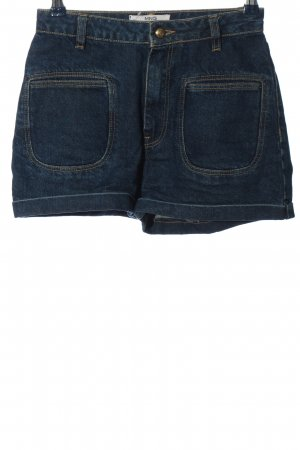 Mango Denim & Tees Pantalón corto de tela vaquera azul look casual