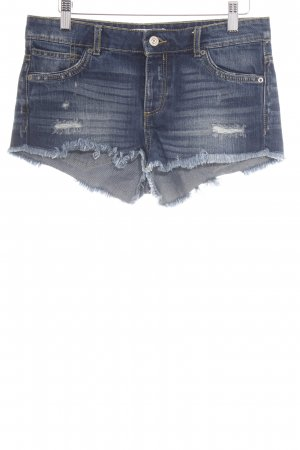 Mango Denim & Tees Jeansshorts blau Casual-Look