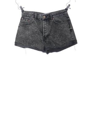 Mango Denim & Tees Pantalón corto de tela vaquera gris claro look casual