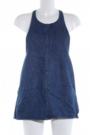 Mango Denim & Tees Pinafore Overall Skirt blue casual look