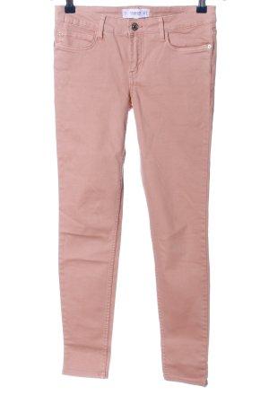 Mango Denim & Tees Röhrenjeans pink Casual-Look
