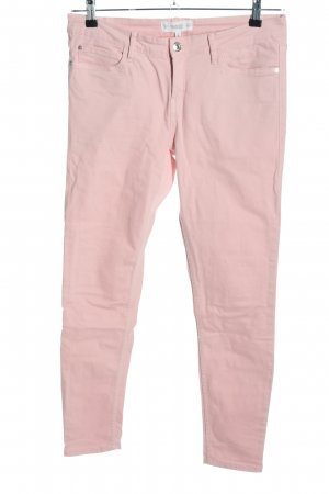 Mango Denim & Tees Skinny Jeans pink Casual-Look