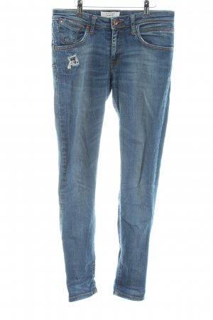 Mango Denim & Tees Skinny Jeans blau Casual-Look