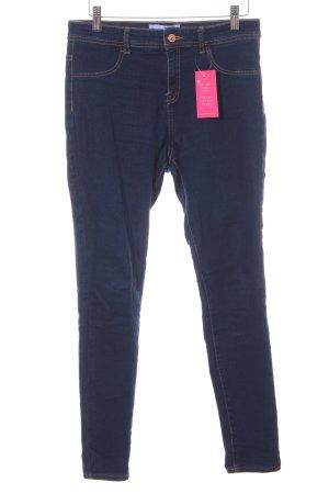 Mango Denim & Tees Skinny Jeans dunkelblau Jeans-Optik