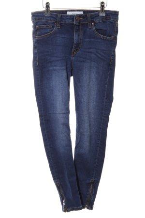 Mango Denim & Tees Skinny Jeans blau Casual-Look