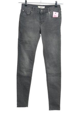 Mango Denim & Tees Slim Jeans hellgrau Casual-Look