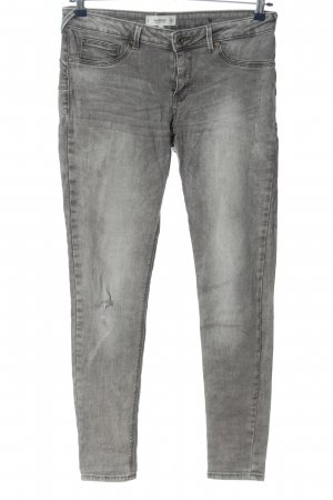 Mango Denim & Tees Slim Jeans hellgrau Casual-Look
