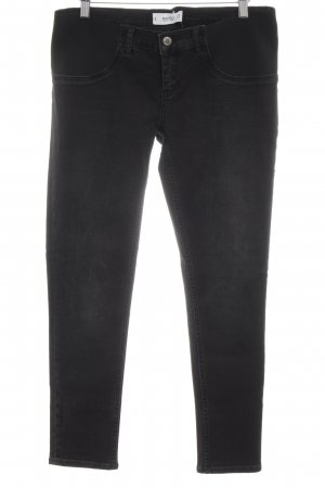 Mango Denim & Tees Slim Jeans schwarz Casual-Look