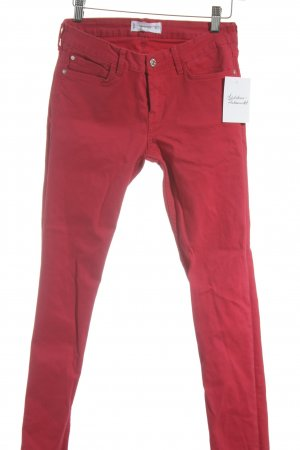 Mango Denim & Tees Slim Jeans rot