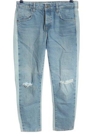 Mango Denim & Tees Straight-Leg Jeans blau Casual-Look