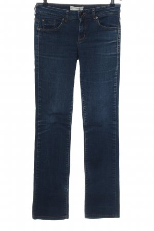 Mango Denim & Tees Straight-Leg Jeans blau Casual-Look