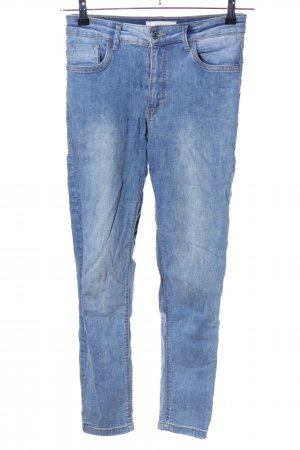 Mango Denim & Tees Stretch Jeans blau Casual-Look