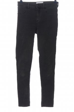 Mango Denim & Tees Stretchhose schwarz Casual-Look