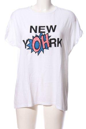 Mango Denim & Tees T-shirt imprimé avec thème style décontracté
