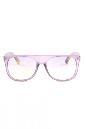 Mango eckige Sonnenbrille pink Casual-Look