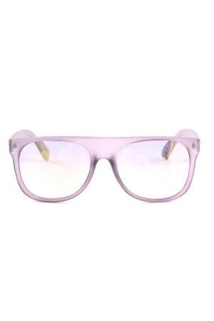 Mango Occhiale da sole spigoloso rosa stile casual