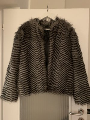 Mango Fake Fur Jacke