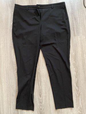 mango gr 46 damen business anzug hose schwarz sommer